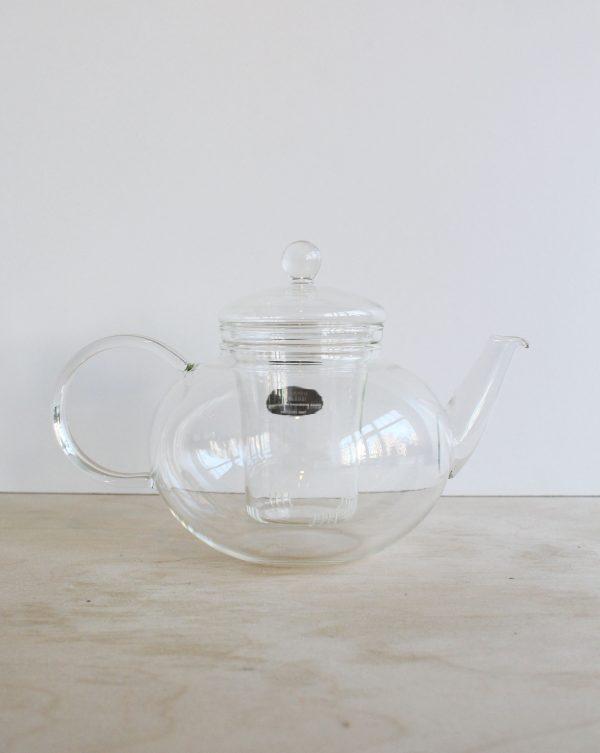 Glazen theeset