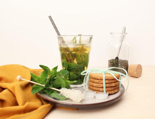 Cool Mint Ice Tea