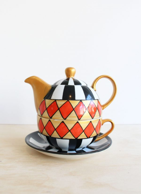 Tea for one Harlekin
