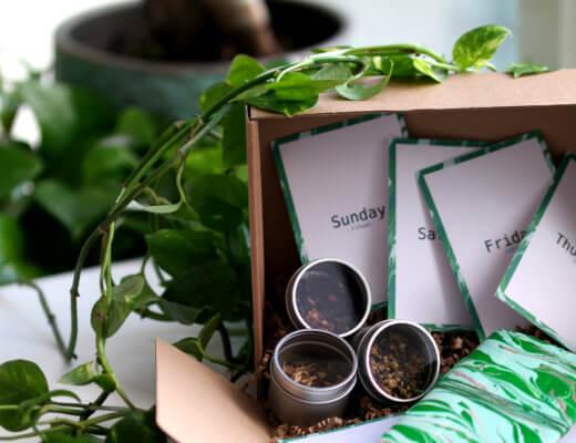 Healthy Tea Box