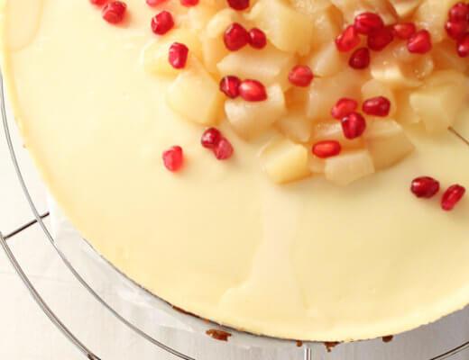 Earl Grey Cheesecake
